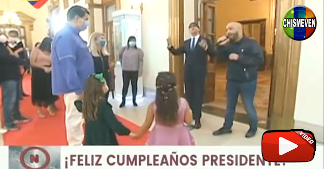 Maduro organizó costosa Coronaparty para celebrar su cumpleaños
