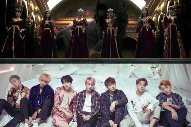 Tamamen Kraliyet Olan 7 Büyüleyici K-Pop MV'si