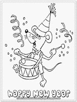 new year's eve printable kids coloring pages