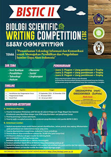 Lomba Menulis Esai - Biology Scientific Writing Competition HIMABIO UMM