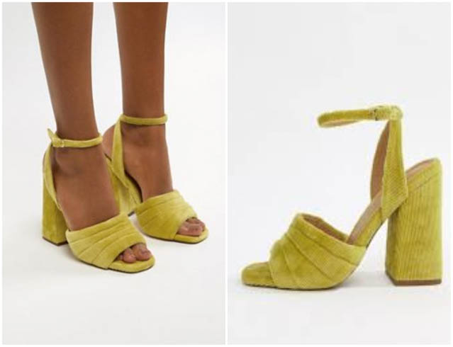 sandalia tacon zapato fiesta boda asos shoes sandals