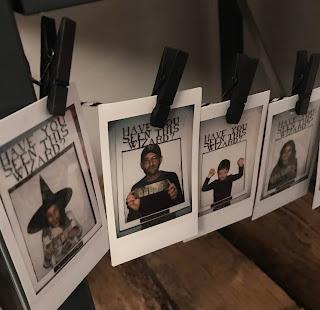photographies instantannées avec un photobooth Harry Potter