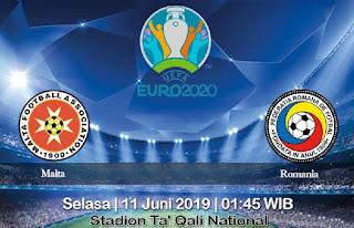 Prediksi Malta Vs Romania 11 Juni 2019