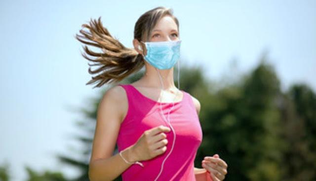 ¿Correr con mascarilla N95 es peligroso?