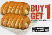 Harga Promo KFC Danish Pastry Buy 1 Get 1 Tiap Beli Kopi Aja
