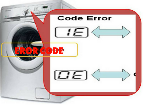 This is what it means Code Error Washing machine Panasonic And how