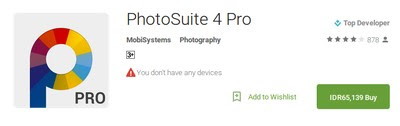Download PhotoSuite APK Foto Editor Alternatif Adobe Photoshop di Android