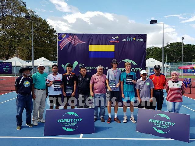 Gugun Juara ITF J4 Perlis ! Ini Kata Coach Bonit Wiryawan