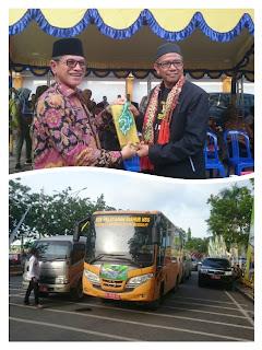 Rombongan Kafilah MTQ ke-32 Mulai Berdatangan ke Kotabaru