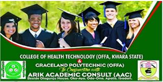 Offa Health Tech & Graceland Poly Scholarship Form 2020/2021