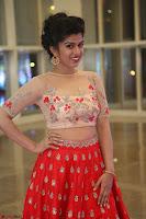 Mahima in beautiful Red Ghagra beigh transparent choli ~  Exclusive 002.JPG