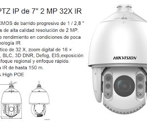 Hikvision Cámara DOMO PTZ IP HIKVISION