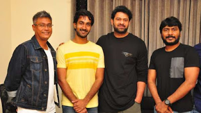 Prabhas at Paper Boy trailer Launch