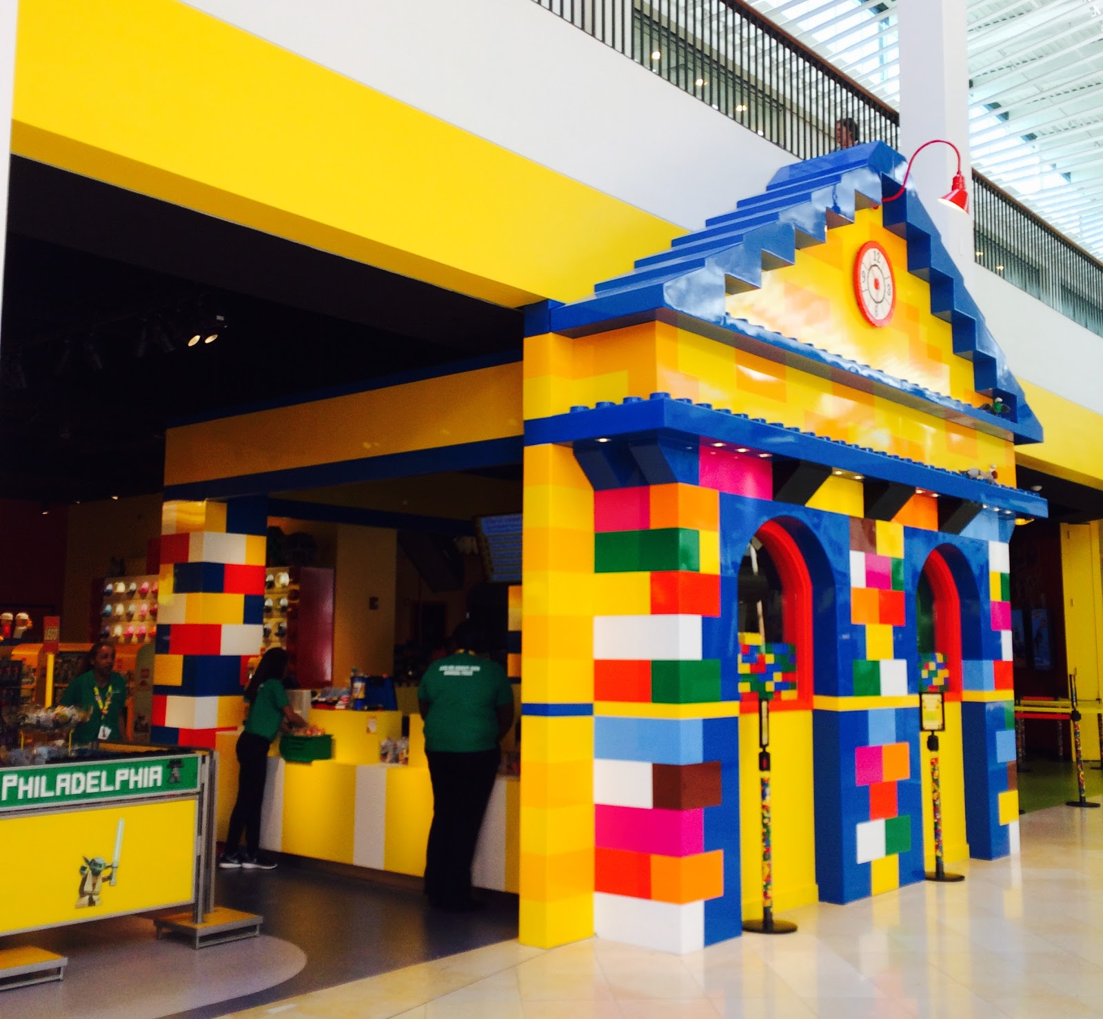 What will i see at legoland discovery center philadelphia