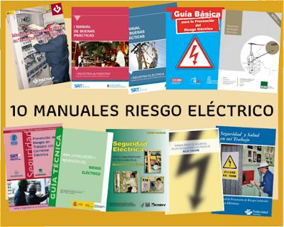10 manuales riesgo electrico