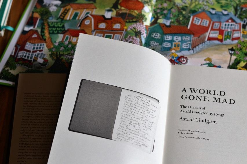 Stríðsdagbækur Astrid Lindgren: A World Gone Mad · Lísa Hjalt
