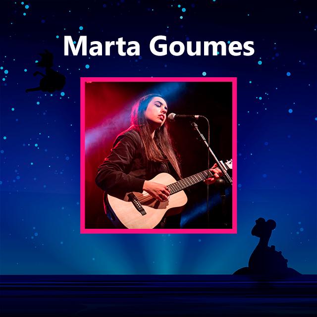 Imagen con el logotipo de Marta Goumes