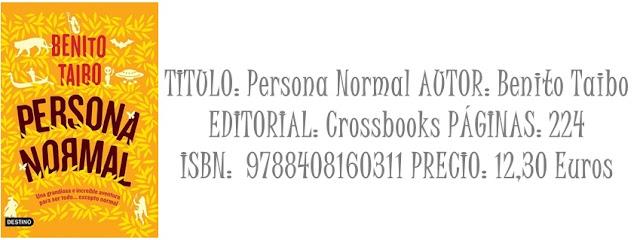 Micro reseña: Persona normal