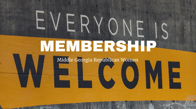 Middle Georgia Republican Women's Membership Form