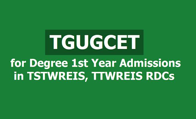 TGUGCET 2019 (Telangana Gurukul Under Graduate Common Entrance Test) notification released