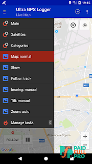 Ultra GPS Logger Patched APK