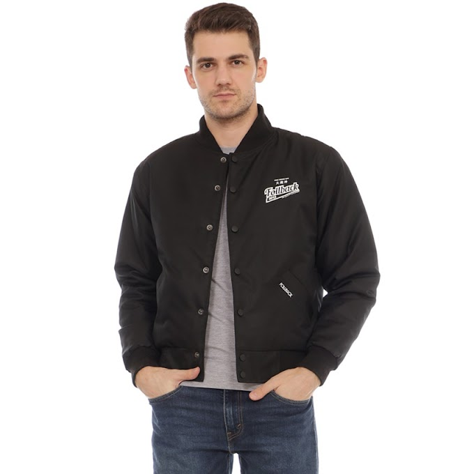 Jaket Original Varsity Basic Union Black