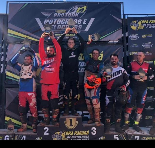 Piloto de Manoel Ribas conquista 1º Lugar no Velocross em Apucarana