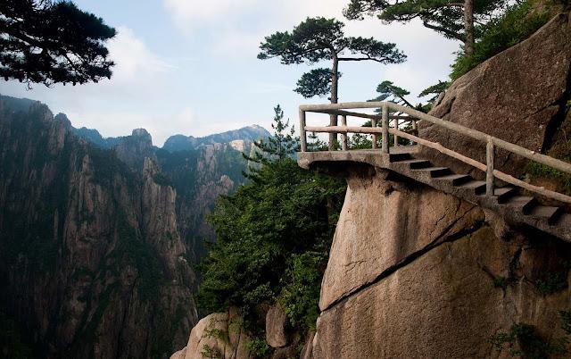 Escaleras HuangShan