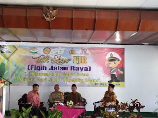 Bhayangkari Gandeng UNU NTB Menyelenggarakan Talkshow Fikih Lalu Lintas