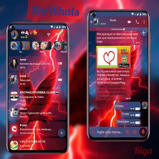 Eagle Eyes Greeen Theme For YOWhatsApp & KM WhatsApp By Marcos