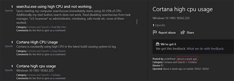 Pembaruan Windows 10 KB4512941 (Build 18362.329) Menyebabkan Masalah Pada CPU?