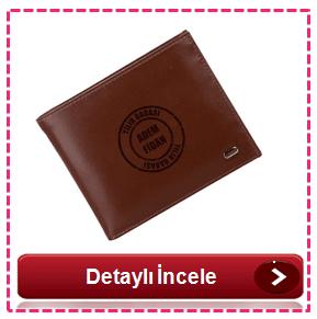 Erkeğe kişiye özel cüzdan
