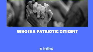 patriotic citizen