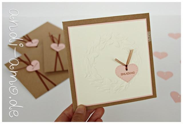 Einladungskarten DIY Geburtstag oder Hochzeit