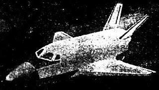 Una rara foto del simulacro della navetta LKS?
