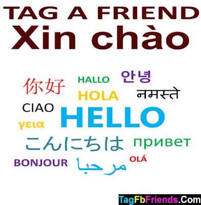 Hi in Vietnamese language