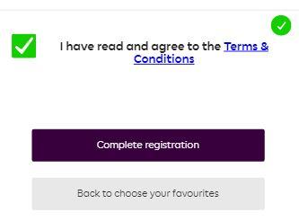 Agree to Terms and Conditions - Fantasy Premier League