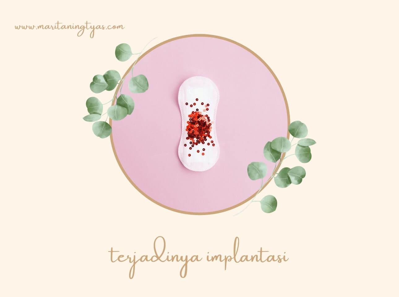 terjadinya implantasi di rahim