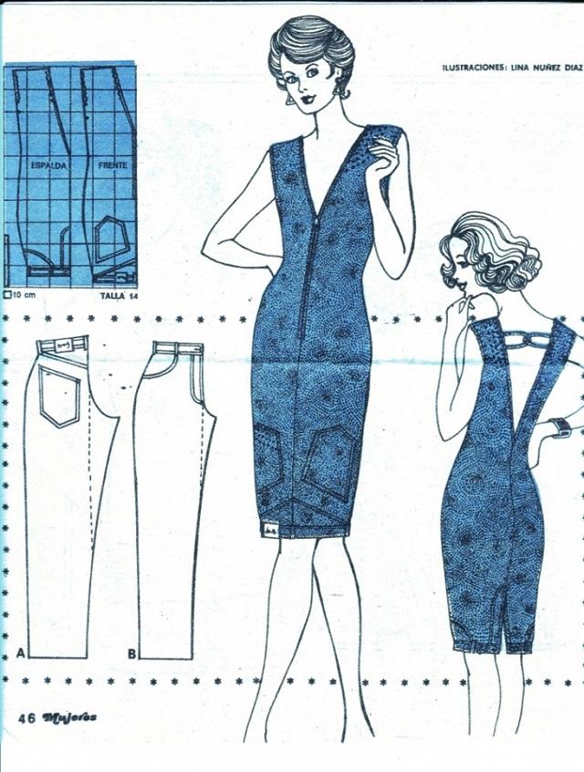 De pantalón a Vestido! (DIY) - **Un paréntesis entre Dedales**