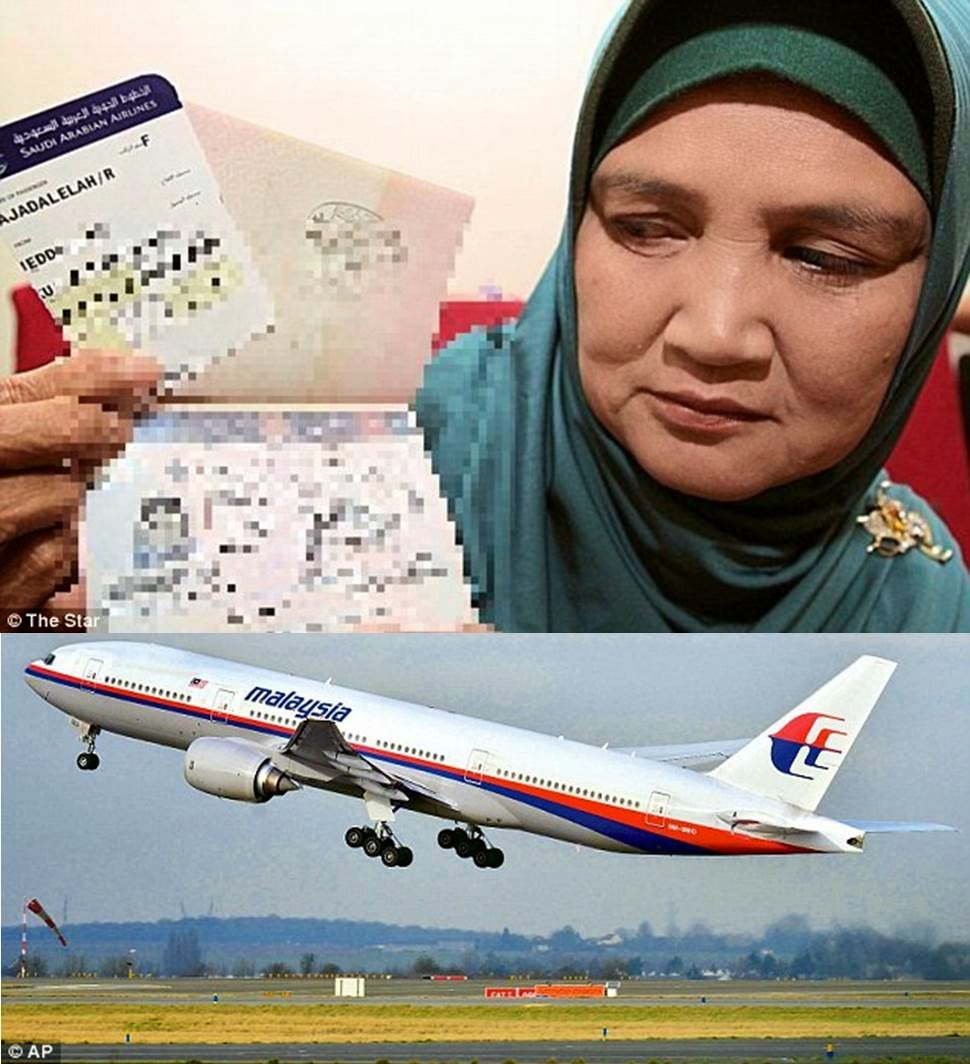 I Saw Missing Malaysia Airlines Flight MH370 In Water