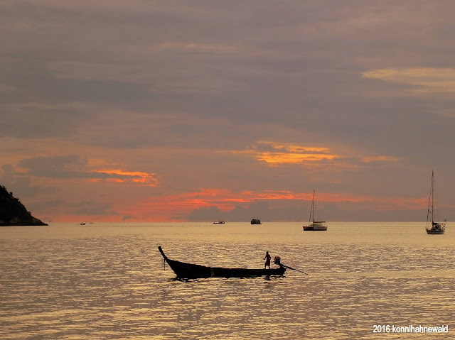 Sunset beach Koh lipe, thailand, longtail boat, andaman sea, tropical water, excellent picture, thai people,