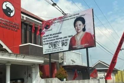 Kronologi Baliho Puan Korban Vandalisme 'Open BO' di Jatim