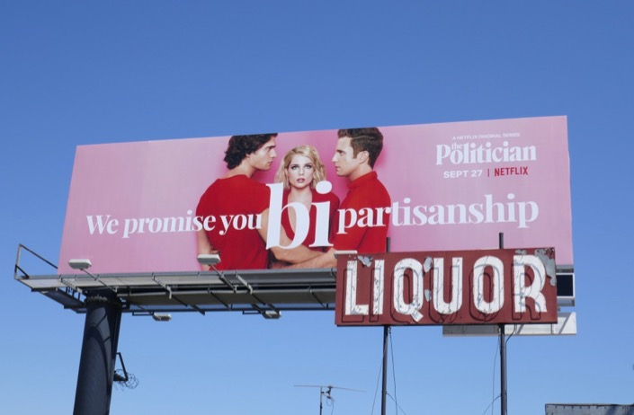 Politician We promise Bipartisanship billboard