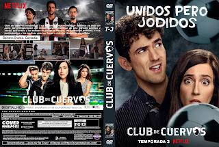 CLUB DE CUERVOS TEMPORADA 1 - 2 - 3 - 4 2015 - 2019 [COVER - DVD]