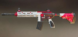 Pubg Mobile M416 skin: Stained Soul