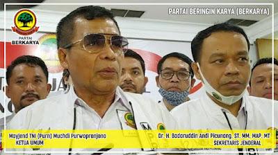 Dpp berkarya tepis isu PTTUN dengan rencana Bimtek seluruh anggota DPRd
