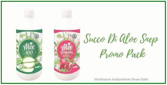 Succo Di Aloe Granada e Succo Di Aloe 100% Promo Pack