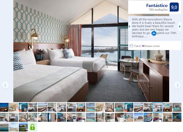 Hotel Dream Inn para ficar em Santa Cruz