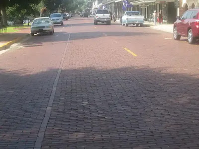 What is BRICK PAVEMENT