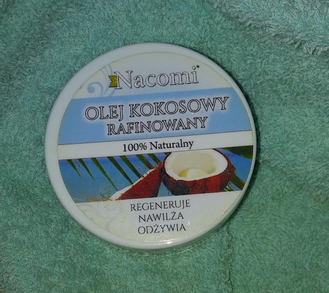 Nacomi - olej kokosowy, rafinowany.